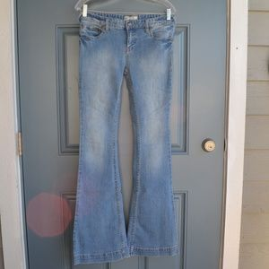 Bootcut Medium Wash Jeans by Free People Sz 29